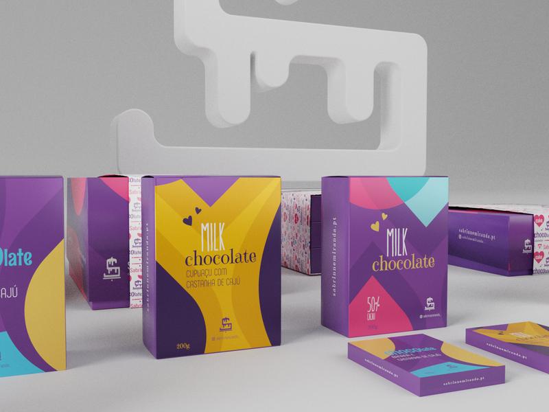 Sabrinne Miranda — Cake Designer 3d art 3d blender3d blender brand design brandidentity branding design branding package design packaging package logo