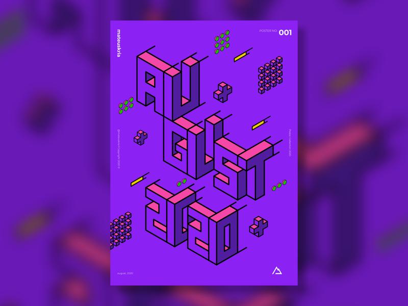 Isometric Poster in Affinity Designer poster art posters poster graphic affinitydesigner affinity isometric design isometric art isometric