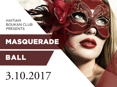 Masquerade Ball - Flyer Announcement Design event promotion graphic design masquerade ball design photo graphic flyer flyer design