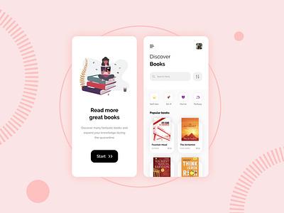BookNest : Ebook App UI app clean creative credit card credit card payment finance mastercard minimal mobile app navbar trending ui best top trending popular apple ios book app ebook design ebook ui