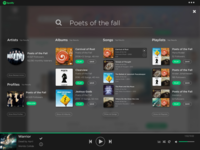 Spotify Search - UI Redesign