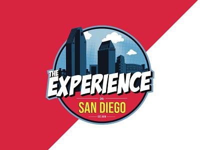 The Experience Logo logos logotype illustrator event branding design branding logo design logo