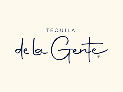 Tequila Logo bottle alcohol minimal typography branding design cpg food and drink tequila logo