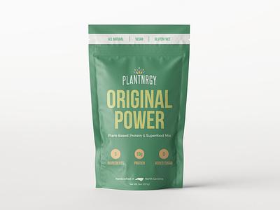 Superfood Mix - Label Design - Unused Concept minimal typography food and drink design cpg food branding logo graphic design