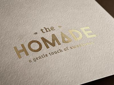 the HOMADE sweet cake bakery design graphic hcmc saigon identity food vietnamese vietnam brand