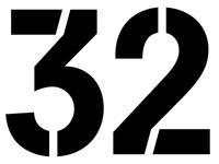 32 Stencil