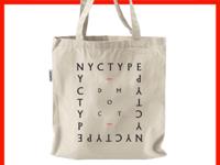 NYC Type tote bag