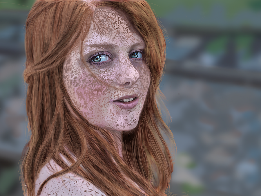 Red Head By Shlomi Dribbble Dribbble