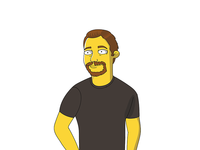 Simpson style character
