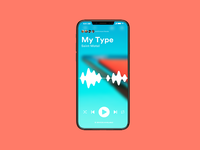 Music Player UI - Spotify Inspired