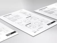 Verdana Type Poster - IKEA Manual