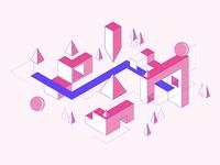 Dubhacks - Launch Illustration 01