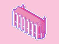 Suzzallo Library Sticker