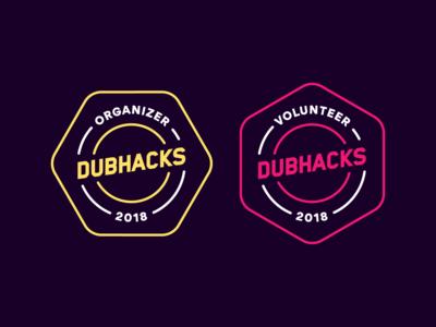 Volunteer + Organizer Badges