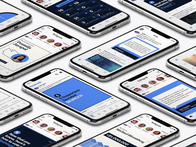 TLDR Politics Product Shot social social media user experience user interface local vote voting politics ux ui uw student identity branding