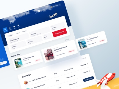 Flight Booking Website Design 1 branding design illustration brand design website design design studio ui  ux design creative design agency design agency uiux ui flight booking website booking website web design agency booking website design product design ui design ui ux desgin