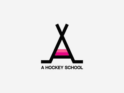 Logo Challenge: Letter A hockey logo logotype letter