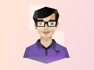 Nerdy Boy man character illustration character design