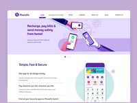 PhonePe - Fast and Secure online payments illustration story design language web design website secure india cashless payment phonepe