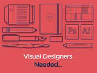 Visual Designers Needed