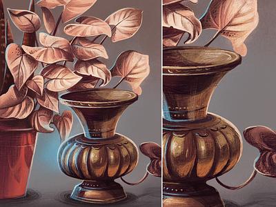 Peekandi - Antique Indian urn