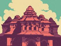 WIP - Lotus Mahal