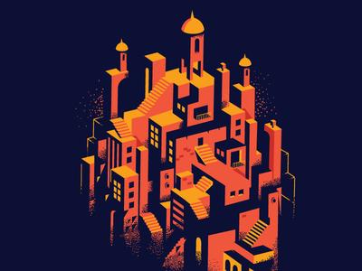 urban landscape landscape buildings clusters urban heritage modern mix vector texture