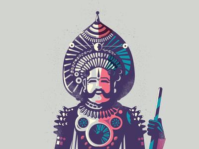 Yakshagana - folklore 01 costal historical music theatre folklore art folk india bangalore yakshagana