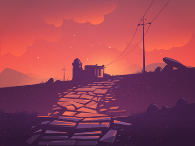 Sunsets at heritage town illustration karnataka india pathway walk town hampi ruins landscape sunset heritage