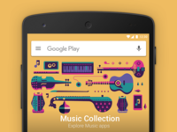 Google Play - Music collection
