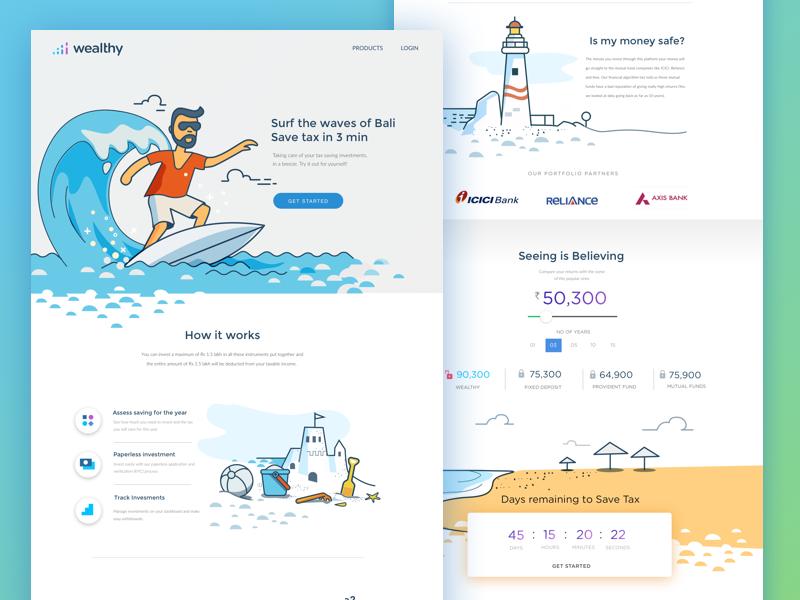 Beispiele für eine erfolgreiche Landing Page