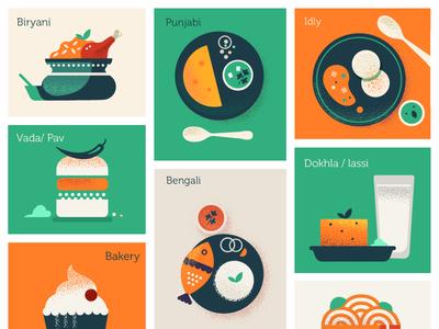 Variety on a platter