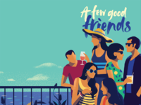 Dribbble few good friends detail