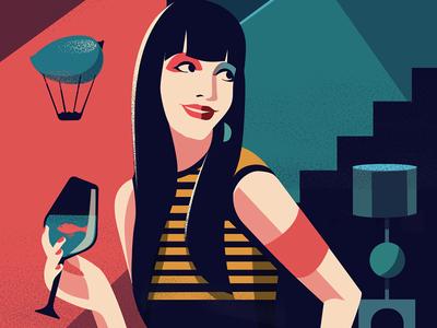 Make your own rules retro modern style illustration designers ing dubai creative festival