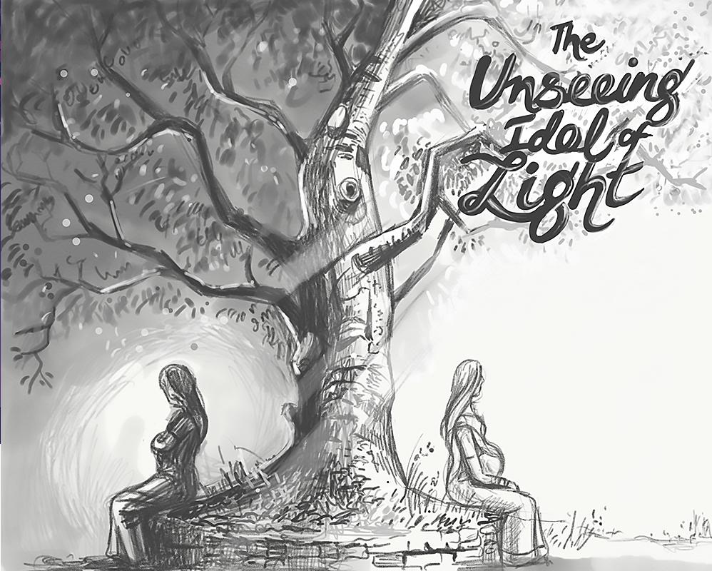 Dribbble unseen light sketch