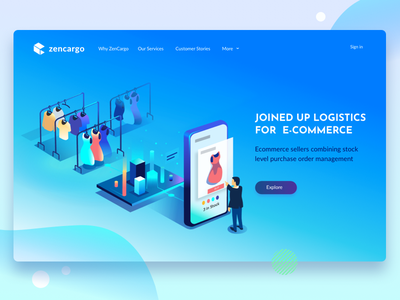 All joined up digital cargo logistics analytics realtime data ecommerce integration warehouse