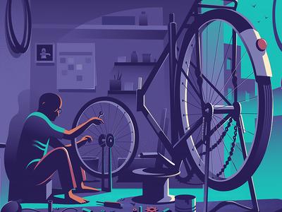Mending the wheel