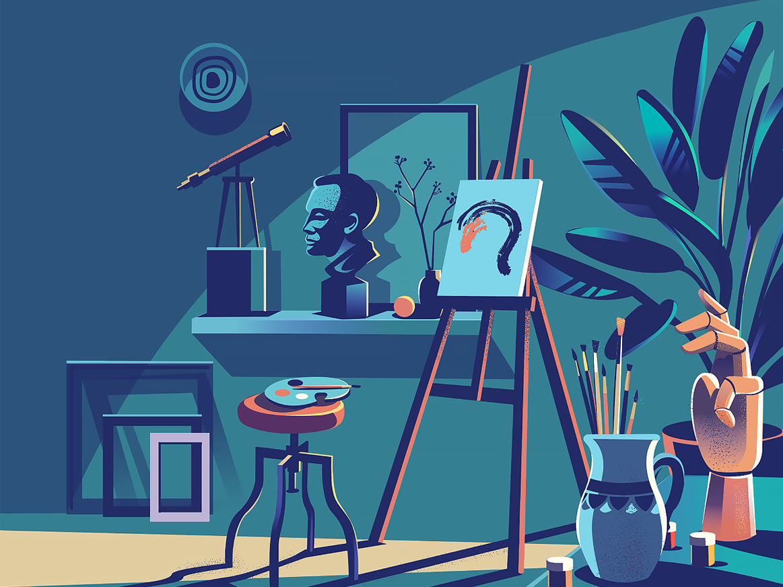 Dribbble creative corner