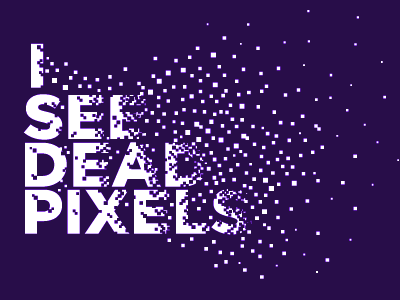 Isee dead pixels