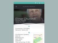 Hotspot App User Profile