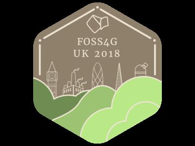 FOSS4G UK 2018 Logo