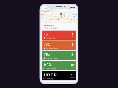 🚌 Get Me A Bus! schedule timetable bus iphone x