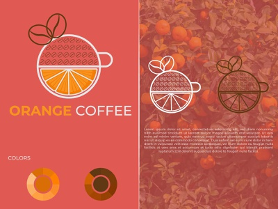 Orange Coffee Logo Design creative logo company logo logotype lemon logo lemon coffee logo orange logo logos logo modern latter logo brand identity abstract logo brand design logo design modern logo logodesign gradient logo colorful logo branding