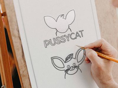 Pussy Cat Logo Design photoshop cat logo art logo logos logo sketch logo sketch logo mockup pussy cat logo pissycat modern latter logo brand identity abstract logo brand design logo design modern logo logodesign gradient logo colorful logo branding