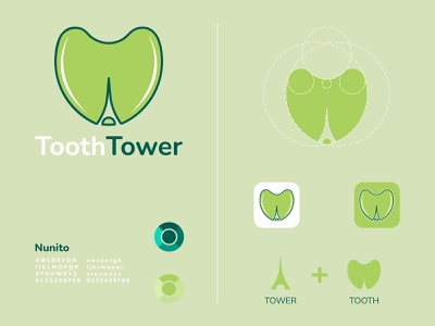 Tooth Tower Logo Design modern design dental logo dental tower logo tower tooth tooth logo logotype logo latter logo logos brand identity abstract logo brand design logo design modern logo logodesign gradient logo colorful logo branding