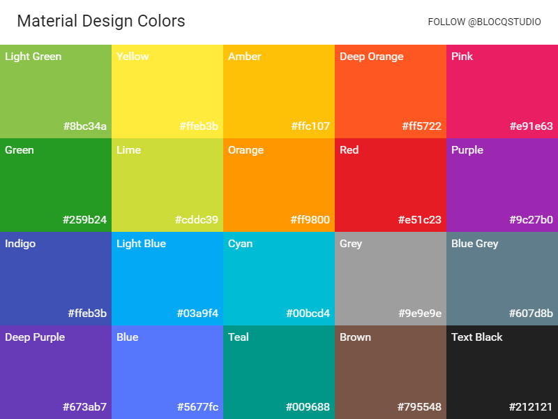 material design colors by simo djuric on dribbble