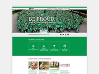 Marshall University - Home Page Redesign