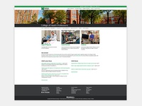 Marshall University - Individual College Landing Page Design