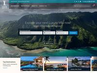UX/UI Design for Travel Destination website