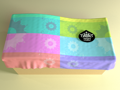 Fabric, No. 05 blender3d logo product pattern fabric fabric design